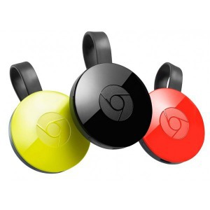 Google Chromecast 2 HDMI Streaming Media Player fekete