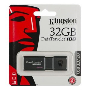 Kingston DataTraveler 100 G3 32GB USB 3.0 DT100G3/32GB