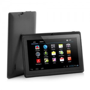 "7"" Android 4.4, QUADCORE - A33 tablet 8GB, Wifi, 3G, GPS - Fekete"