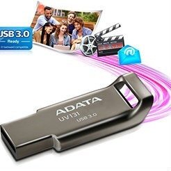 32GB ADATA UV131 USB 3.0 fémházas Pendrive