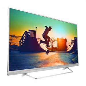 "Smart TV Philips 49PUS6482/12 49"" Ultra HD 4K LED USB x 2 HDR Wifi Ezüst színű"