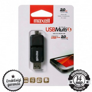 32GB Maxell USB Multi OTG - USB 2.0 Pendrive