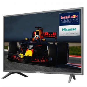 "Smart TV Hisense NEC5600 60"" 4K UHD LED Wifi USB x 2 HDMI x 3 Fekete"