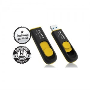 16GB ADATA UV 128 USB 3.0/2.0 PENDRIVE YELLOW