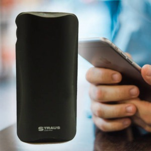 Straus power bank 8000mAh - fekete