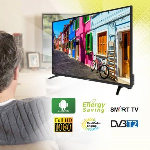 "Herenthal 43"" Full HD Smart TV - 109 cm X43ST18191001"