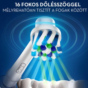 Oral-B CrossAction pótfej - 4 db