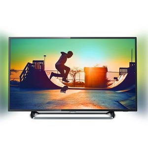 "Smart TV Philips 65PUS6262/12 65"" Ultra HD 4K LED Ultra Slim Wifi Fekete"