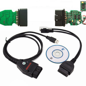 Galletto 1260 ECU Diagnosztikai Kábel EOBD OBD2 Programozó Flash Tunning