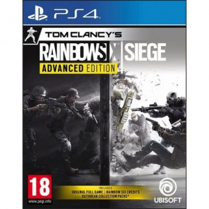 PS4 Tom Clancy's Rainbow Six: Siege Advanced Ed.